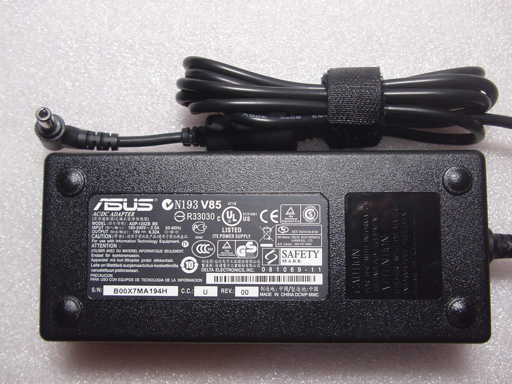 120W Asus 04G26500342 04G265003420 AC Adapter Power Charger
