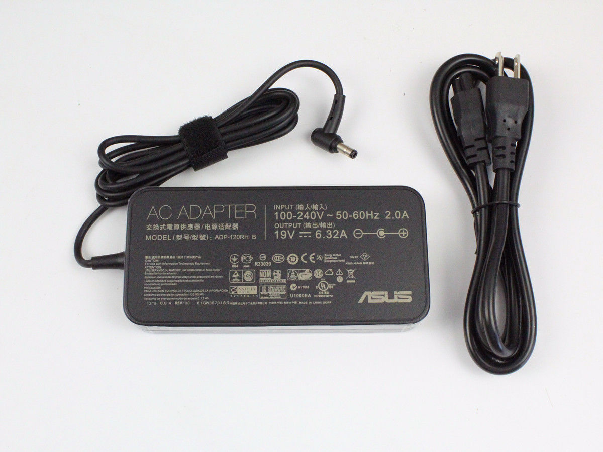 120W Asus ROG GL552 GL552VW-DH74 AC Adapter Power Charger [Asus120w2.5slim-590]