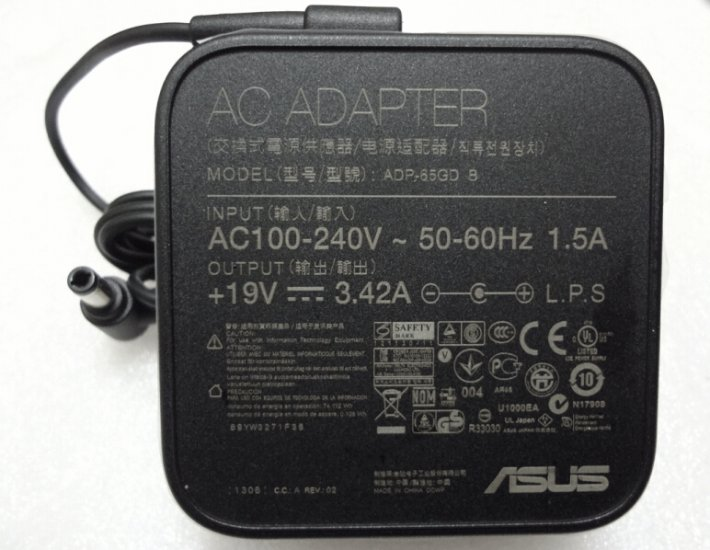 65W Asus TP500LN-CJ039H TP500LN-CJ058H AC Adapter Power Charger