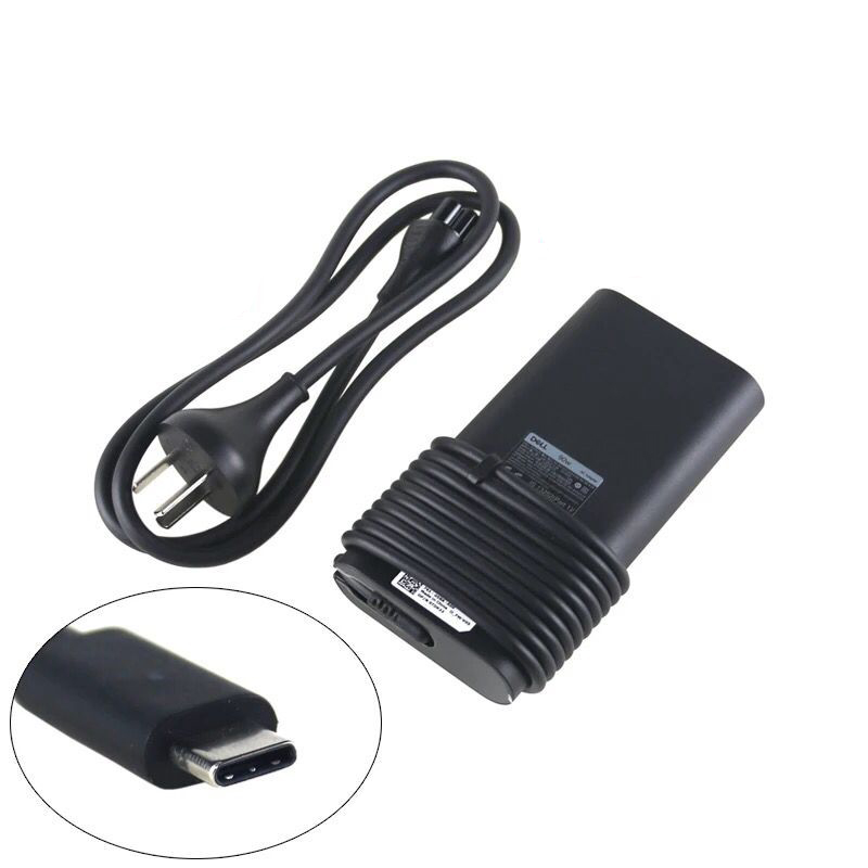 90W Dell Latitude 5580 USB-C Charger AC Power Adapter