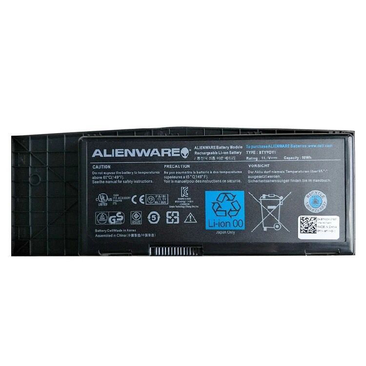 90Wh Dell 7XC9N 07XC9N 5WP5W 451-11606 451-11817 Battery