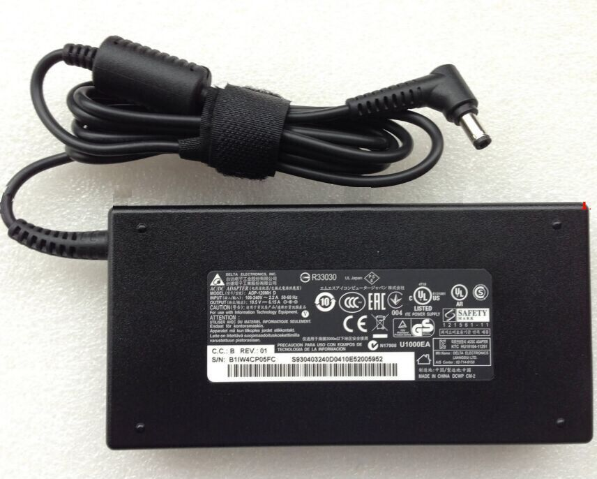120W MSI GE72-2QF Charger AC Adapter
