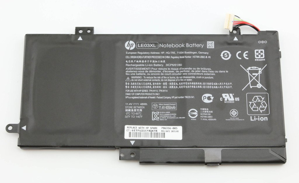 48Wh HP Pavilion x360 13t-s100 (L8V83AV) Battery 11.4V [LE03XL-346]