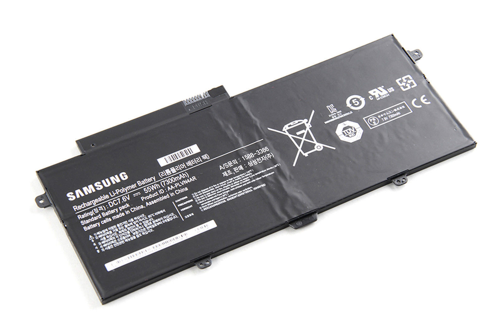 7.6V 55Wh 7300mAh Samsung NP940X3G-K03 NP940X3G-K03AT Battery