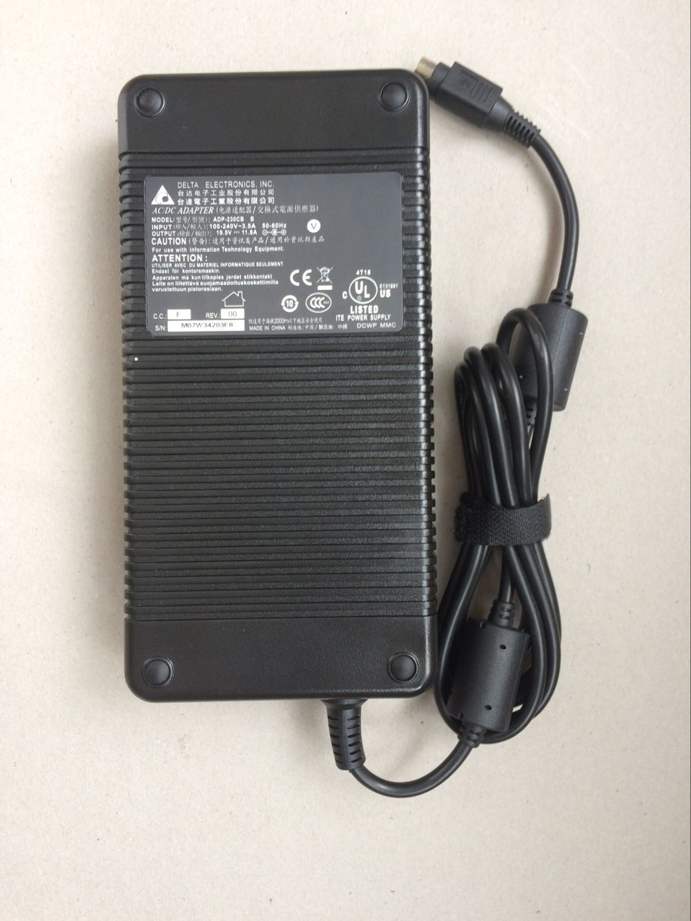230W MSI GT80 2QC-255US Titan SLI Charger AC Adapter Power Supply